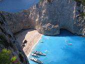 Navagio In Greece