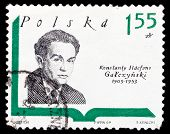 Poland Stamp, Konstanty Ildefons Gatczynski