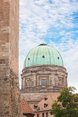 Elisabeth Church Dome In Nuremberg, Germany