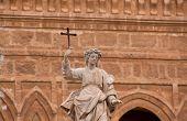 Santa Rosalia Statue In Palermo