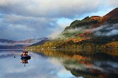 Autumn colours in Highlands, Scotland, Europe