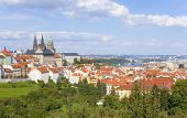 Prague - Hradcany Castle And St. Vitus Cathedral