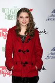 LOS ANGELES - DEC 1:  Sammi Hanratty at the 2013 Hollywood Christmas Parade at Hollywood & Highland