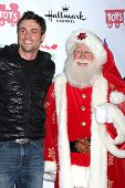 LOS ANGELES - DEC 1:  Daniel Goddard, Santa Claus at the 2013 Hollywood Christmas Parade at Hollywoo