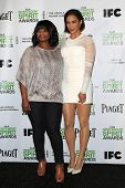 LOS ANGELES - NOV 26: Octavia Spencer, Paula Patton at the 2014 Film Independent Spirit Awards Nomin