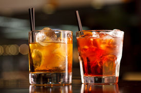 picture of malt  - cocktail in the bar - JPG