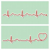 Cardiogram banners