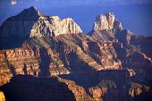image of zoroaster  - Brahma Temple and Zoroaster Temple North Rim Grand Canyon National Park Arizona - JPG