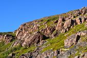pic of murmansk  - View of the tundra and sky in Murmansk region - JPG