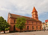 Evangelical Church Of Holy Trinity (1824). Torun, Poland