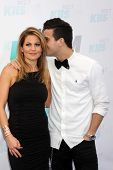 LOS ANGELES - MAY 10:  Candace Cameron Bure, Mark Ballas at the 2014 Wango Tango at Stub Hub Center