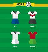 Brazil Soccer Championship 2014 Group G Team