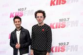 LOS ANGELES - MAY 10:  Chad Vaccarino, Ian Axel, A Great Big World at the 2014 Wango Tango at Stub H