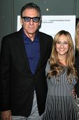 LOS ANGELES - MAY 8:  Michael Richards, Stephanie Soechtig at the