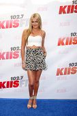 LOS ANGELES - MAY 10:  Lindsay Arnold at the 2014 Wango Tango at Stub Hub Center on May 10, 2014 in