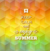 Hipster Summer Background