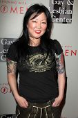 LOS ANGELES - MAY 10:  Margaret Cho at the L.A. Gay & Lesbian Center's