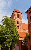 Belfry Of Saint Jacob Church (1350). Torun, Poland