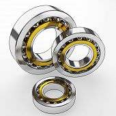 picture of ball bearing  - ball - JPG