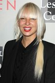 LOS ANGELES - MAY 10:  Sia at the L.A. Gay & Lesbian Center's