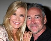 LOS ANGELES - MAY 6:  Katherine Kelly Lang, Michael Fairman at the Bold & Beautiful Celebrates Emmy