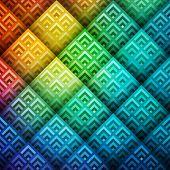 Colorful shiny geometric background, vector eps10 illustration