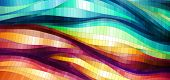 Spatial Colorful Background, vector eps10 illustration