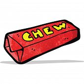 cartoon candy chew bar