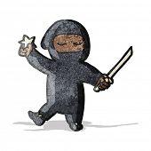 cartoon ninja