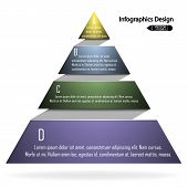 colorful infographics options banner.