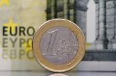 One dirty euro coin