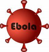 Red Virus Ebola