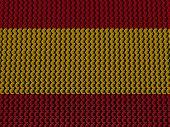 Spanish Euros Flag background illustration