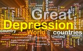Great Depression Word Cloud Box Package