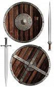 pic of viking  - wooden vikings - JPG