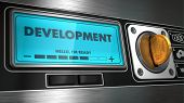 Development on Display of Vending Machine.