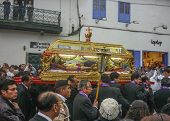 Easter Procession Of The Lord Of Tremors In Cusco