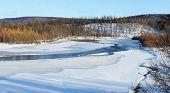 Autumn Landscape In South Yakutia, Russia