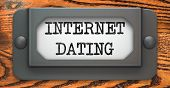 Internet Dating - Concept on Label Holder.