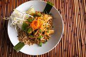 Chicken Pad Thai Plate