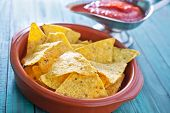 corn chips in a bowl