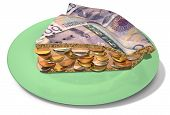Slice Of Crown Money Pie