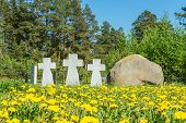 picture of cemetery  - Cemetery is the Central memorial to all who died in captivity on the territory of the Ivanovo region - JPG