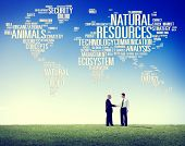 foto of natural resources  - Natural Resources Environmental Conservation Sustainability Concept - JPG