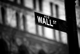 pic of nyse  - Wall Street sign in lower Manhattan New York - JPG