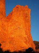 Jagged Peaks In Colorado