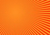 Stripped orange background