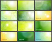 Business cards templates, backgrounds.
