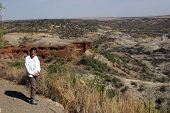 At Olduvai Gorge