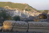 Cardo Main Street In Romans town Beit Shean (Scythopolis), Israel.